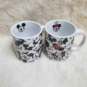 His & Hers Mickey Mouse Cup Set | Set of 2